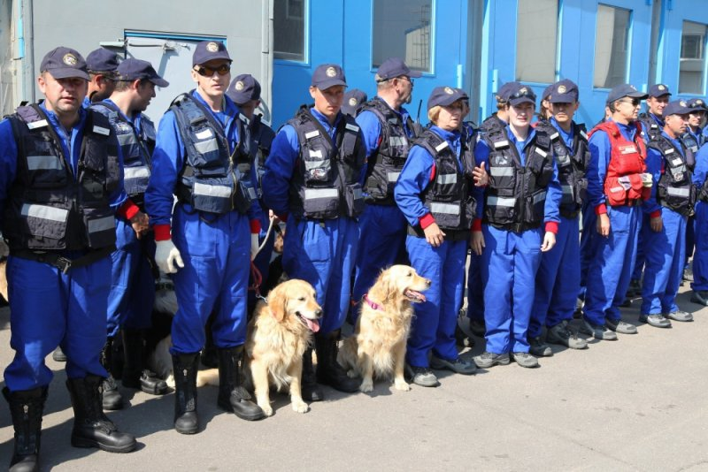 The Centrospas State Central Airmobile Rescue Unit of Russian Emergencies Ministry