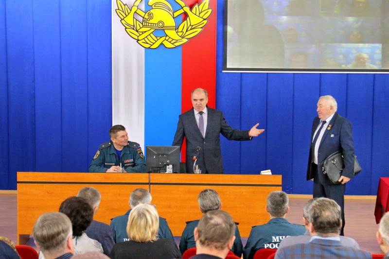 Смоленское региональное отделение Общероссийской общественной организации ветеранов органов управления по делам гражданской обороны, чрезвычайным ситуациям и пожарной охраны
