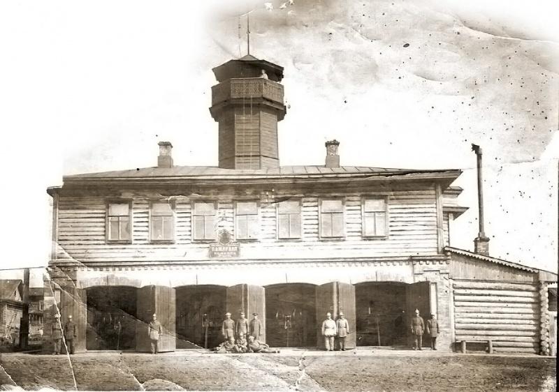 Из истории пожарной охраны города Вятка