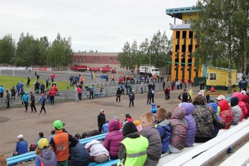 Стадион и манеж для занятий пожарно-прикладным спортом