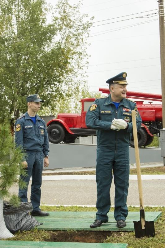 Аллея ветеранов и мастеров