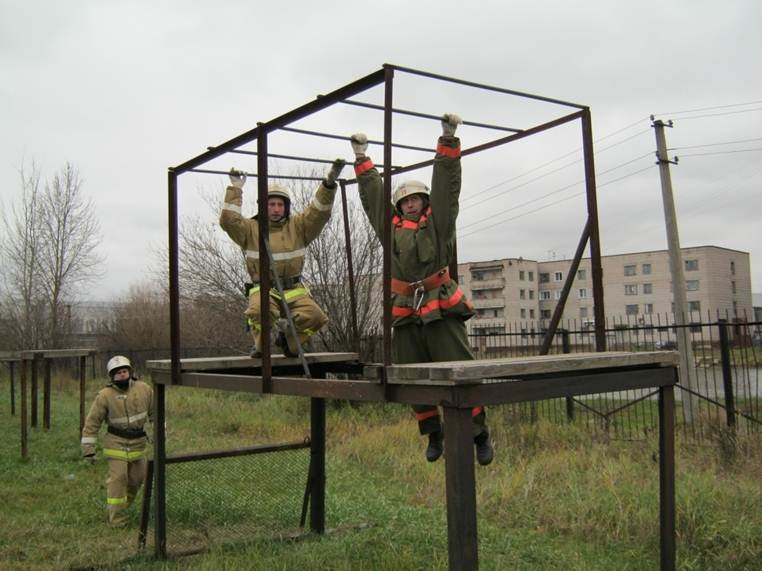 Учебный комплекс подготовки пожарных и спасателей