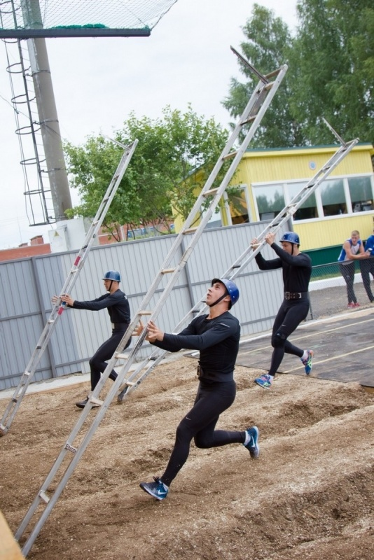 История создания учебной башни  на стадионе Прометей