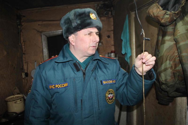 Профилактический рейд по жилому сектору на территории Богашевского сельского поселения (13 февраля 2020года)