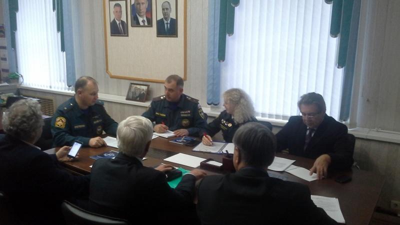 Фотографии с заседаний Общественного совета