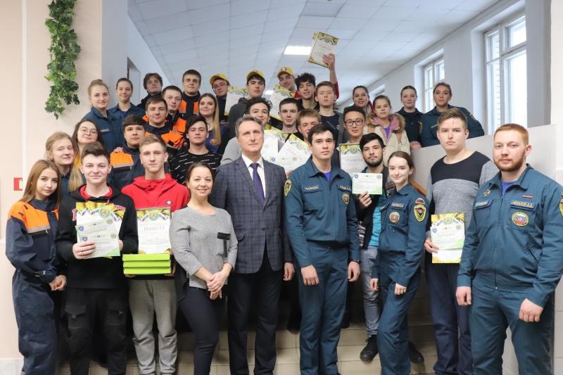 Открытый чемпионат по гражданской обороне в Томском политехническом университете (29 февраля 2020 года)