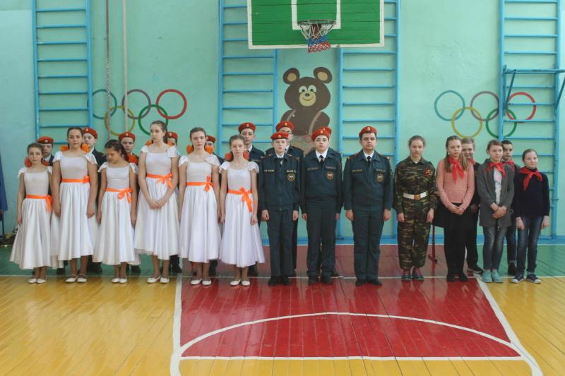 Открытый урок в Богашевской средней школе, приуроченный к Всемирному дню гражданской обороны (2 марта 2020 года)