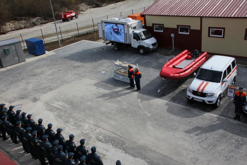 Многофункциональная инновационная пожарно-спасательная часть №29 (2 ОФПС, пос. Прасковеевка г. Геленджик)
