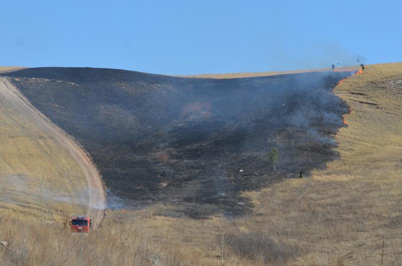 Оперативная обстановка с природными и техногенными пожарами