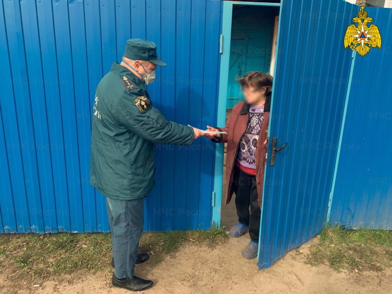 В Смоленской области продолжается профилактическая работы с дачниками