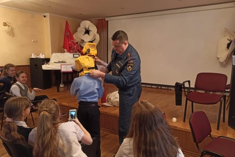 Дмитровских школьников обучают правилам безопасности