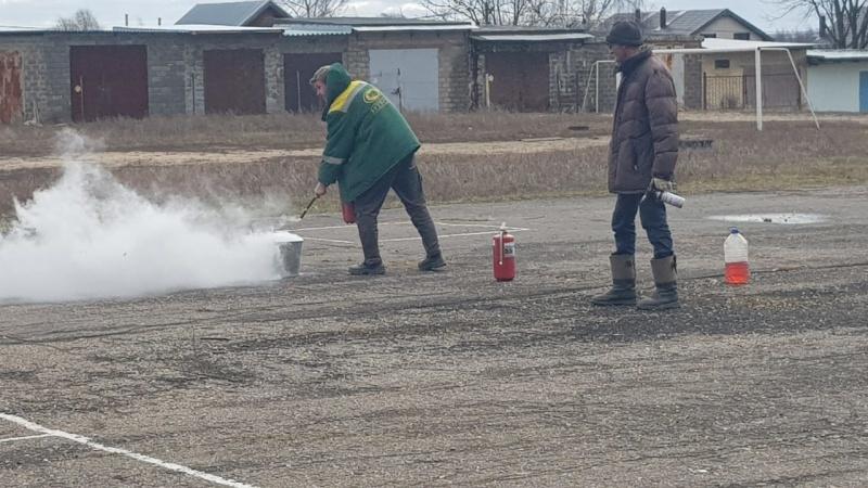 В сельском поселении Заболотьевское проведен день безопасности