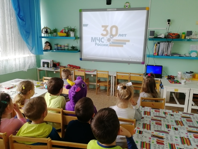 Сотрудники пожнадзора провели дистанционные уроки «Безопасные каникулы» со школьниками из Серпухова, Пущино и Протвино