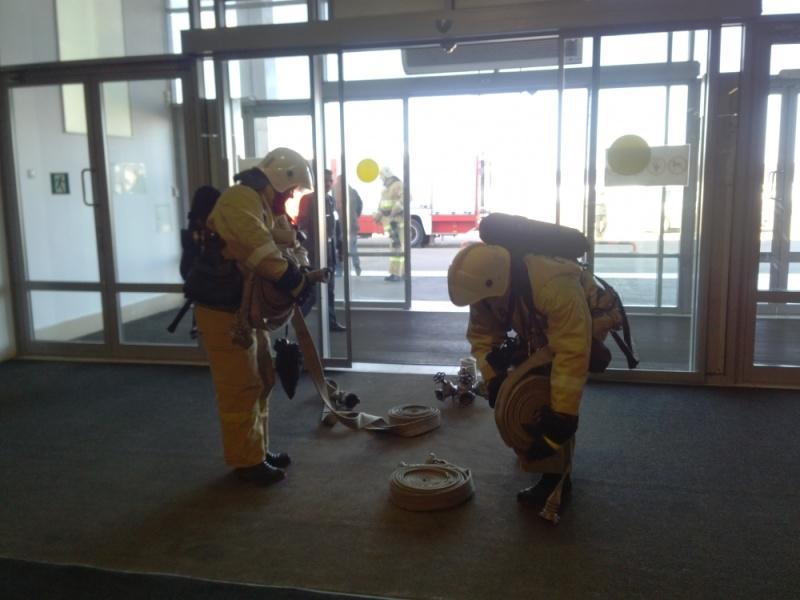 Пресс-релиз  20 августа состоятся пожарно-тактические учения на здании торгового комплекса «ГИПЕРГЛОБУС»