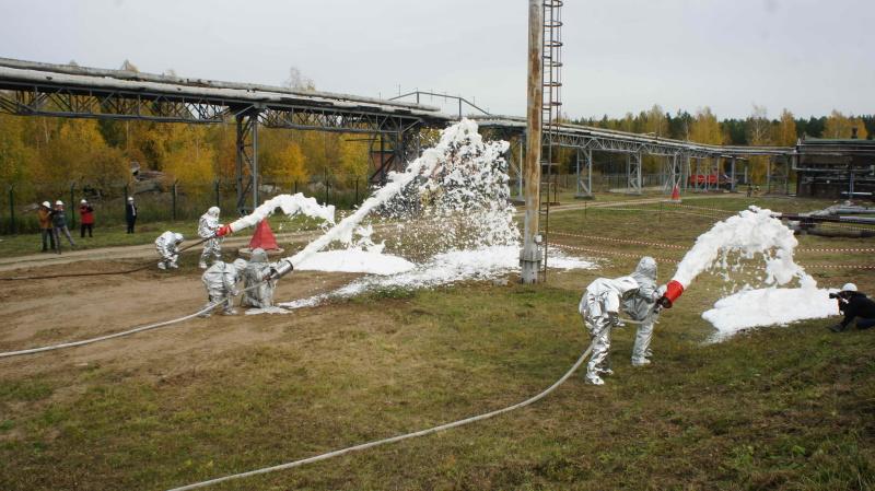 Командно-штабные учения по ликвидации разлива нефтепродуктов на ТЭЦ-1 (23 сентября 2020 года)