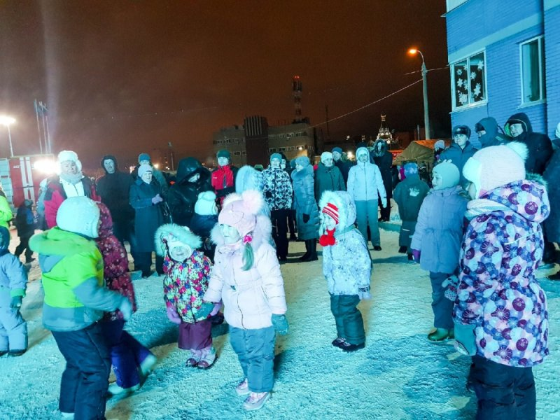 27 декабря, выступление хора ветеранов Главного управления МЧС России по Удмуртской Республике